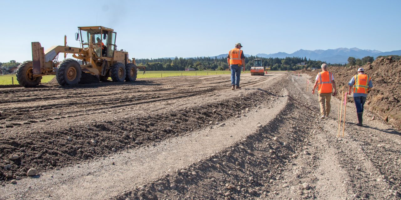 Jamestown S'Klallam Tribe Builds New Levee for Dungeness River